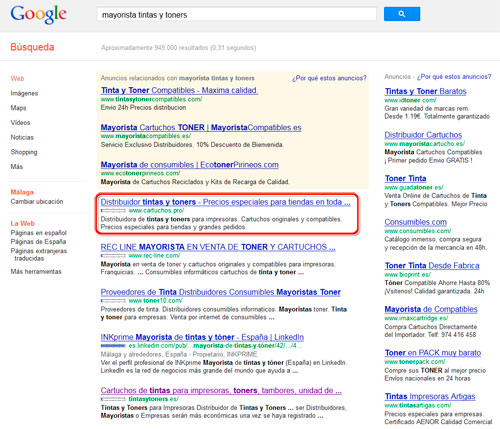 Posicionamiento SEO, numero 1 en Google