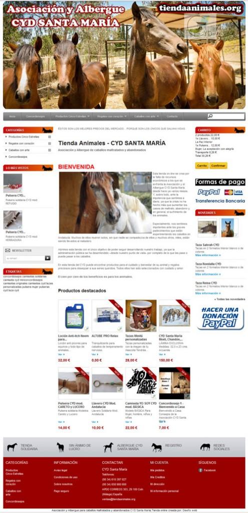 Tienda animales en Prestashop