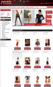 lenceria y corsets para mujer