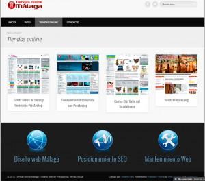 diseño tiendas online malaga prestashop