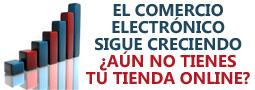 El comercio electrónico imparable en España