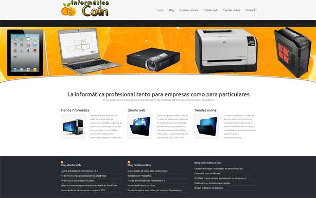 blog informatica coin en wordpress