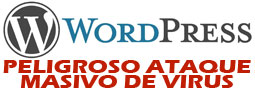 Ataques a la plataforma de blogs WordPress