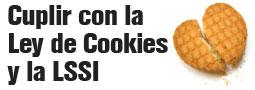 Cumpliendo la LSSI y la Ley de las cookies