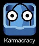karmacracy acortar url y publicar en redes sociales