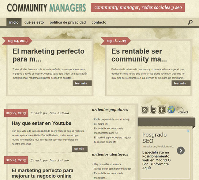 blog wordpress community managers