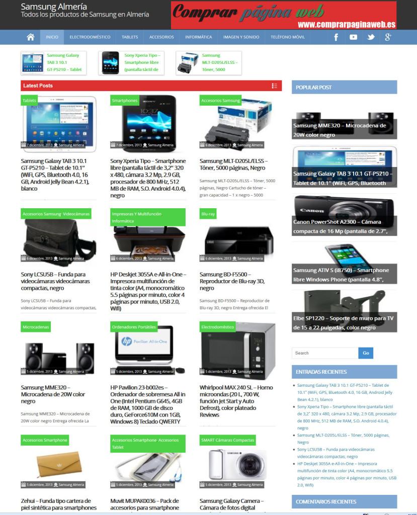 blog wordpress para afiliado Amazon