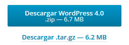 Actualizado a WordPress 4.0