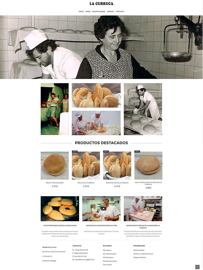 tienda online panaderia